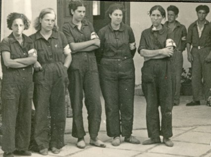 Milicianas-desembarco-de-bayo-Mallorca